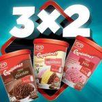 Farmacias Benavides 3×2 en helados Holanda al 31 de julio 2019