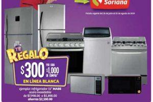 Folleto de promociones Julio Regalado del 26 de julio al 1 de agosto 2019