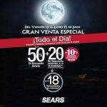 Gran Venta Especial Sears del 12 al 15 de julio del 2019