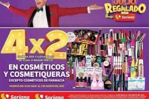 Julio Regalado 2019 4x2 en cosméticos y cosmetiqueras del 22 de julio al 1 de agosto