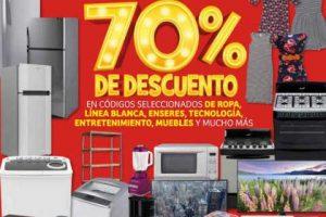 Julio Regalado 2019: Liquidación 70% de descuento en ropa, técnologia, línea blanca y más