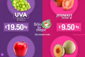 La Comer: Miércoles de Plaza Frutas y Verduras 3 de Julio de 2019