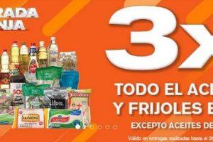La Comer Temporada Naranja: 3x2 en todo el aceite, arroz y frijoles empacados