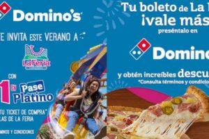 La Feria de Chapultepec 2x1 en pase platino con Domino's Pizza al 18 de agosto