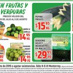HEB Frutas y Verduras del 30 de Julio al 5 de Agosto de 2019