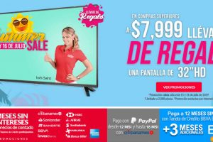 Office Depot - Summer Sale Gratis Pantalla HD en compras de $7,999