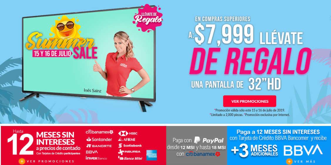 Office Depot – Summer Sale Gratis Pantalla HD en compras de $7,999