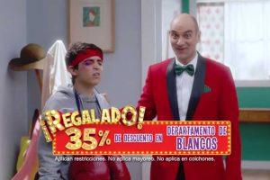 Julio Regalado 2019 Soriana: 35% en Departamento de Blancos