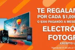 Temporada Naranja 2019 en la Comer: $350 de descuento por cada $1,000 en electrónica y fotografía