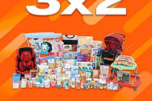 Temporada Naranja 2019 en La Comer: 3×2 en pañales y todo para bebés