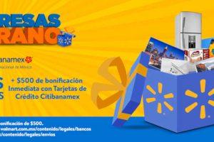 Walmart: 18 MSI + $500 de bonificación con Citibanamex Verano 2019