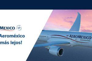 Aeroméxico: Puntos dobles BBVA Bancomer del 26 al 30 de Agosto 2019