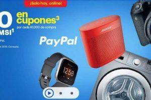 Best Buy $100 en cupones y hasta 18msi por cada $1,000 de compra con Paypal