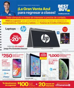 Best Buy: Catálogo Gran Venta Azul del 8 al 14 de Agosto de 2019
