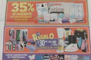Catálogo de ofertas Julio Regalado Soriana Mercado y Express del 2 al 8 de agosto 2019