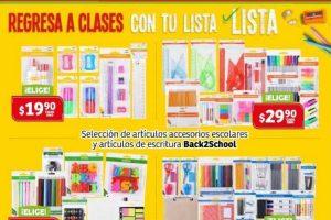 Catálogo de Ofertas Soriana Híper y Mega Regreso a Clases del 22 de agosto al 15 de septiembre 2019