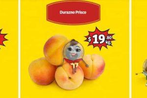 Frutas y Verduras Soriana Mercado y Express del 20 al 22 de Agosto 2019