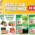 Ofertas HEB frutas y verduras del 13 al 19 de agosto 2019