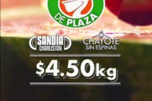 La Comer Miércoles de Plaza 21 de Agosto 2019