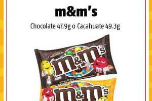 Oxxo: 2x1 en Chocolates M&M's del 15 al 11 de Septiembre de 2019
