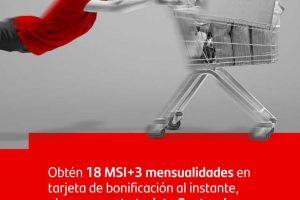 Sams Club: 18 meses sin intereses y 3 de bonificación con Santander