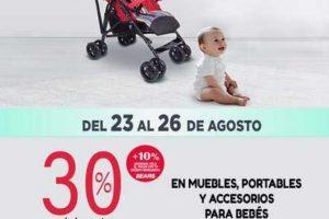 Sears 30% de descuento en muebles portables y accesorios para bebes