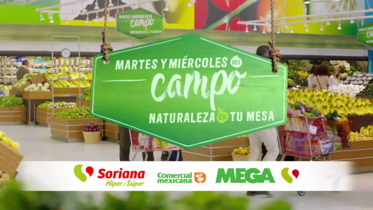 Soriana Martes y Miércoles del Campo 13 y 14 de Agosto de 2019