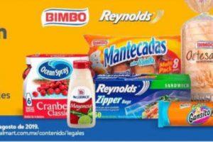 Walmart Súper: $45 de Bonificación en productos Bimbo y Herdez