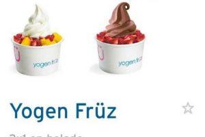 Promoción 2x1 en helado Yogen Fruz con CitiBanamex