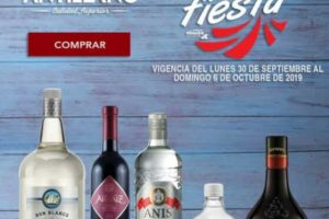 Bodegas Alianza: Promociones de vinos y licores del 30 de septiembre al 6 de octubre 2019