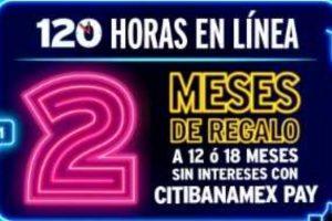 Promoción 120 Horas CitiBanamex del 23 al 27 de septiembre 2019