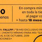 Costco: $600 de descuento + 18 msi con Paypal al 6 de octubre 2019