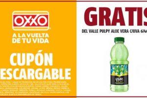 Cupones Oxxo: Rufles, Yogurt placer oreo y Del valle Aloe Vera Gratis
