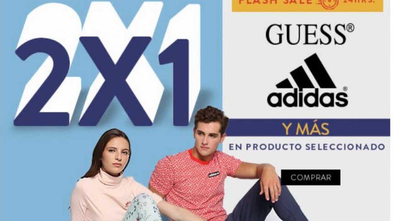 lana fuente Dar a luz  Flash Sale Ösom: 2x1 en Guess y Adidas durante 24 horas