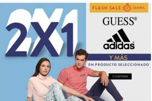 Flash Sale Ösom: 2x1 en Guess y Adidas durante 24 horas