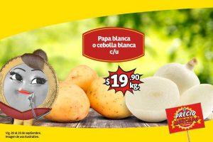 Frutas y Verduras Soriana Mercado y Express del 24 al 26 de Septiembre 2019