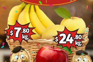 Frutas y Verduras Soriana Mercado y Express del 17 al 19 de Septiembre 2019