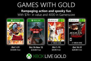 Games With Gold de octubre de 2019