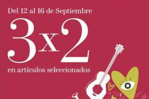 H&M: 3x2 en artículos seleccionados durante Fiestas Patrias 2019