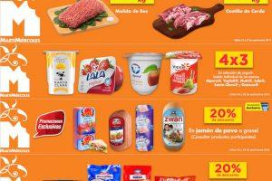 Chedraui: Martimiércoles en salchichonería, carnes y yoghurts 25 de Septiembre