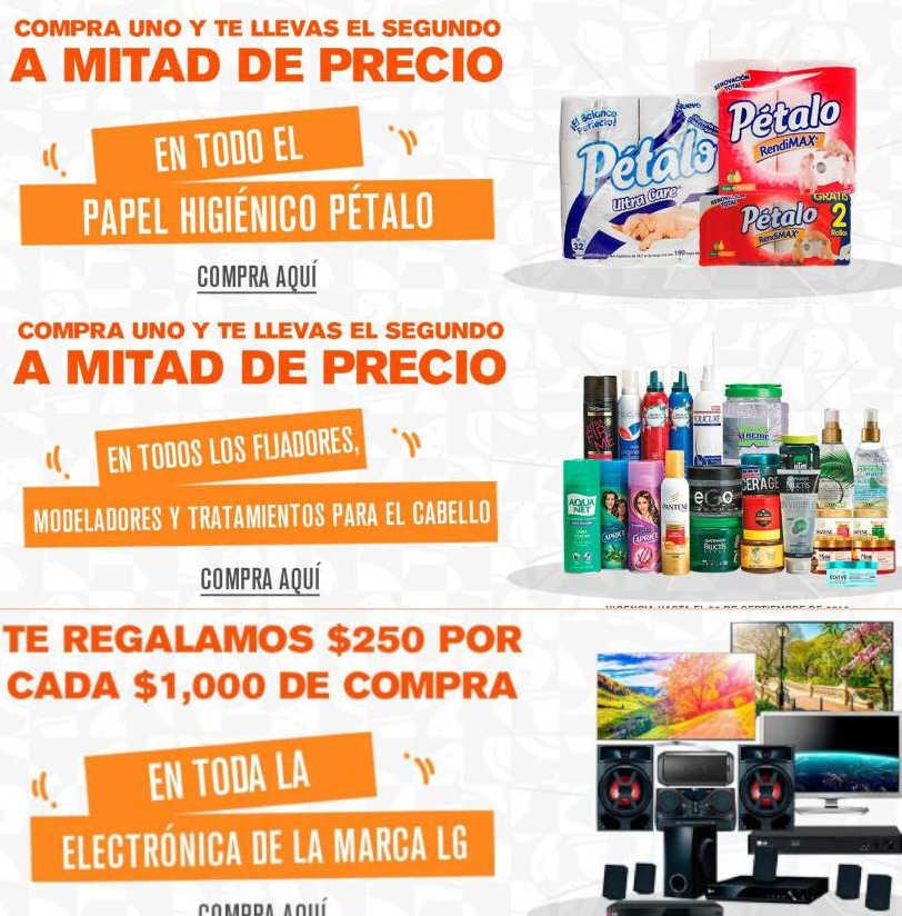 Ofertas La Comer de Fin de Semana del 27 al 30 de Septiembre 2019