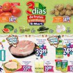 Ofertas S-Mart frutas y verduras del 10 al 12 de septiembre 2019