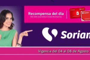 Soriana: Ofertas Recompensas del Día del 15 al 19 de octubre 2019