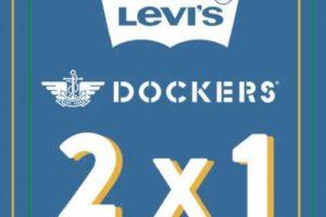 ösom: 2×1 en ropa Dockers y Levis seleccionada para dama y caballero