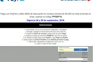 COSTCO: Paga con PayPal y obtén $600 de descuento