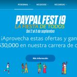 Paypal Fest del 2 al 5 de septiembre 2019