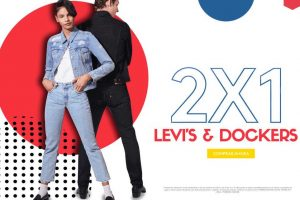 Promoda Outlet: 2x1 en Levi's y Dockers al 2 de Octubre 2019