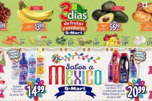 S-Mart frutas y verduras del 17 al 19 de septiembre 2019