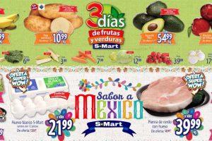 Ofertas S-Mart frutas y verduras del 24 al 26 de septiembre 2019