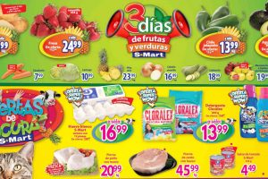 Frutas y Verduras S-Mart del 1 al 3 de octubre 2019